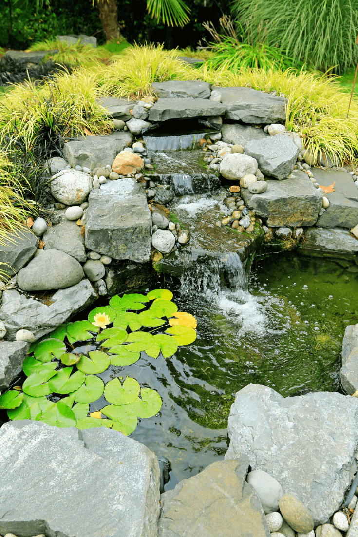 Pond Kits Make It Super Easy To Set Up A Pond Just About Anywhere We Reviewed The 10 Best Pond Kits On The M Waterfalls Backyard Pond Waterfall Ponds Backyard