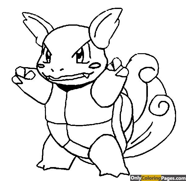Pokemon Coloring Pages Wartortle Pokemon Coloring Pokemon Coloring Pages Pokemon