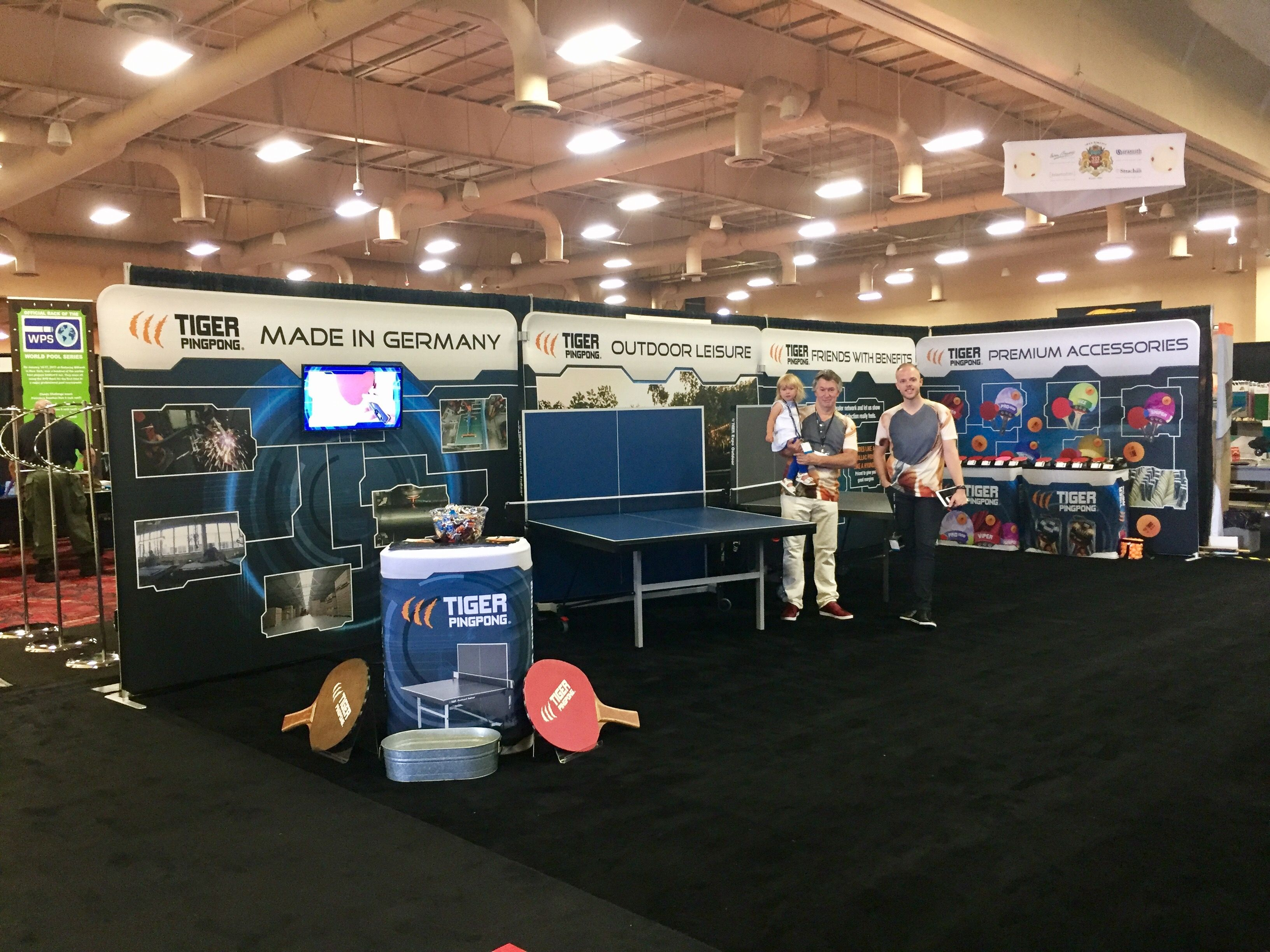 Excellent Use Of Our Modular Waveline Trade Show Displays By Tiger Pingpong Showing How To Maximize You Trade