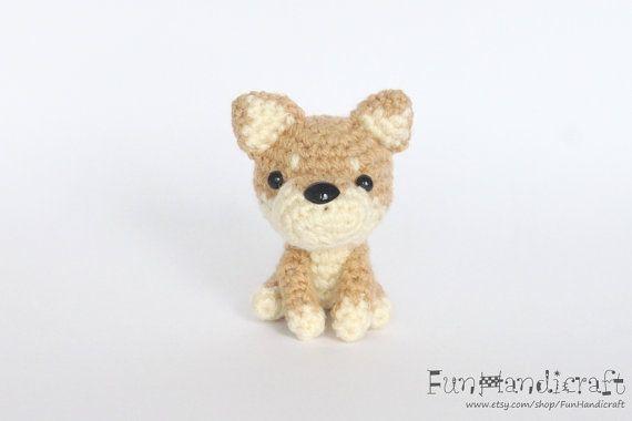 Amigurumi Dog Crochet Patterns : Shiba amigurumi dog crochet pattern english language with tutorial