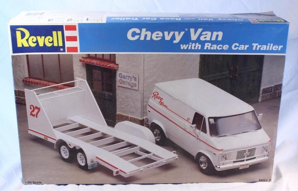 Image result for revell chevy van