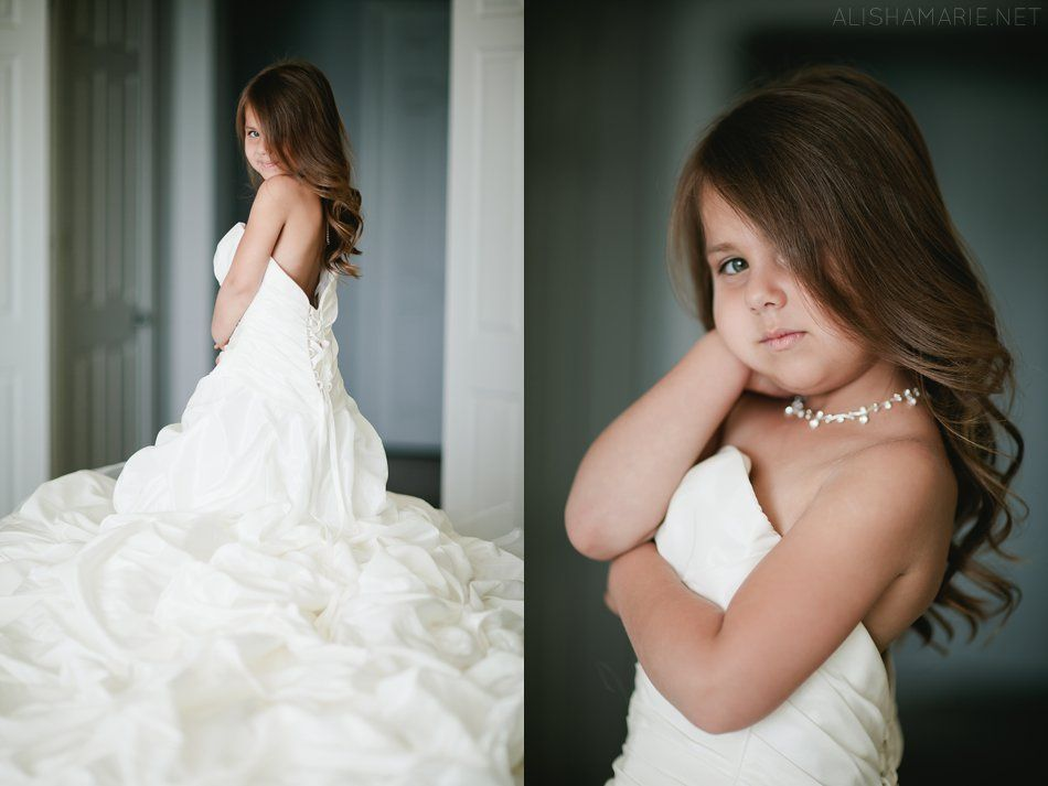 I want to do this with my flower girl! | Here comes the bride ...