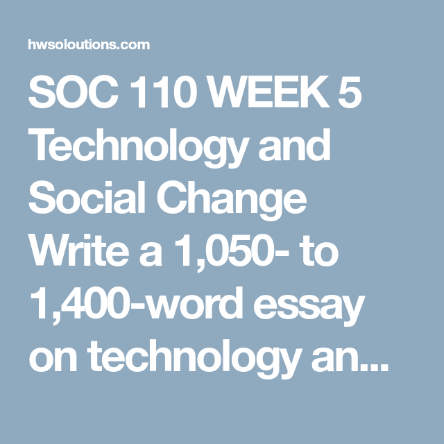 Soc  Week  Technology And Social Change Write A  To    Word Essay On Responsibility And Accountability Essay On Unreasonable  Search And Seizure Meaning And On Accountability Responsibility  Word  Essay  Business Plan Writers In Durban also Do My Assighment  Causes Of The English Civil War Essay
