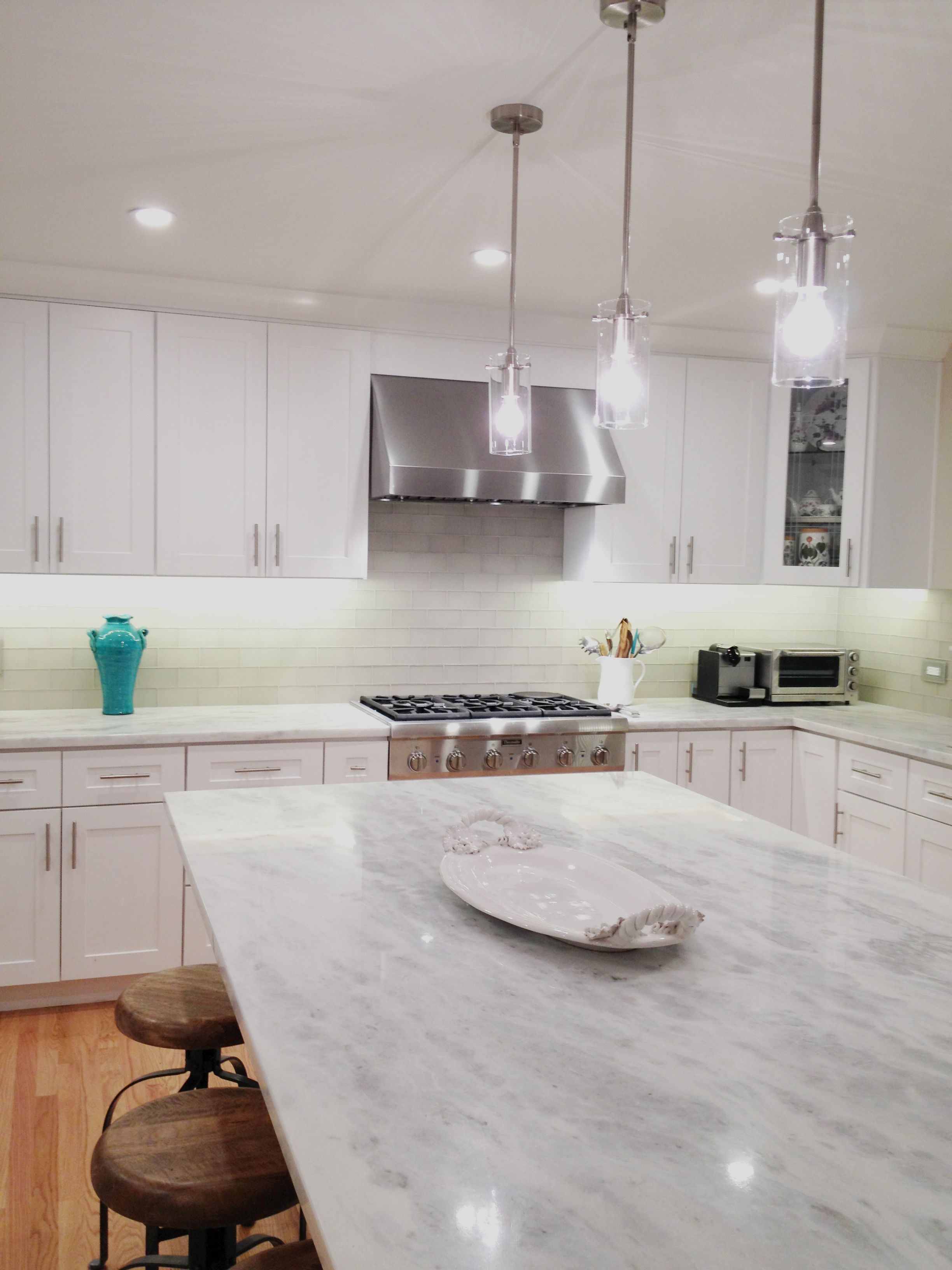 Prefab Namib Fantasy Quartzite kitchen counter with matte
