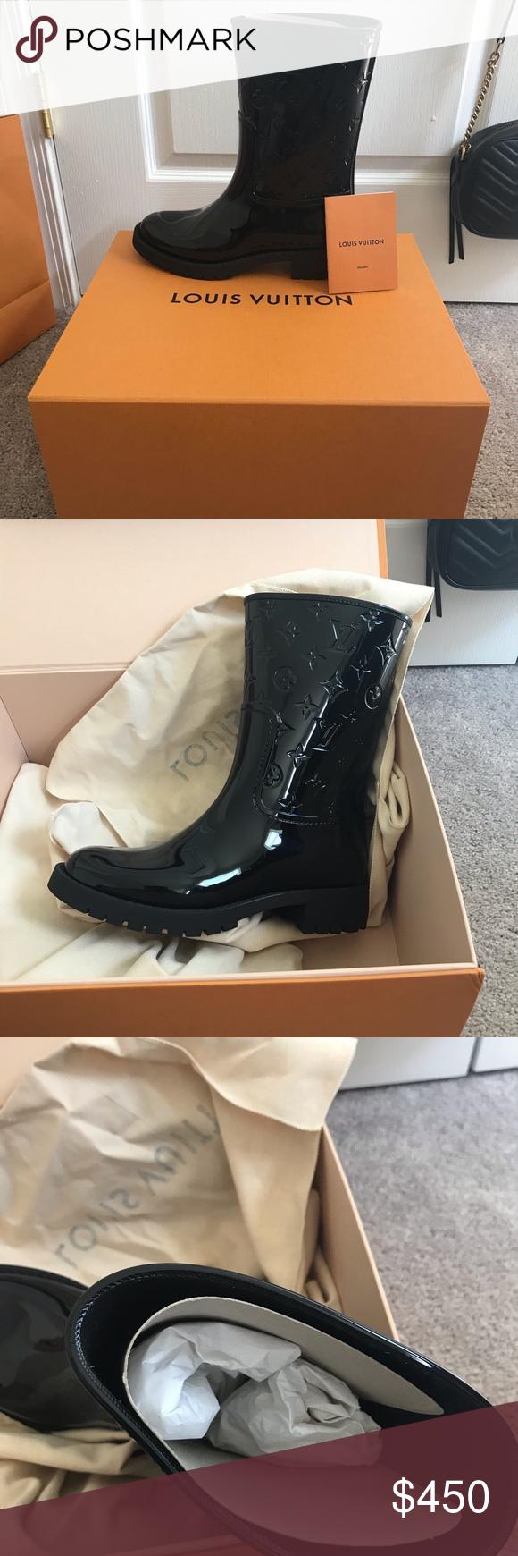 b04a536861 Louis Vuitton Drops Flat Half Boot DROPS FLAT HALF BOOT BRAND NEW ...
