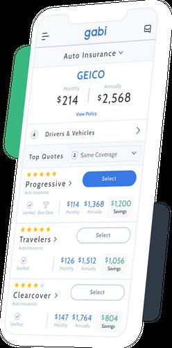 Gabi Compare Home Auto Insurance Save Money Car Insurance