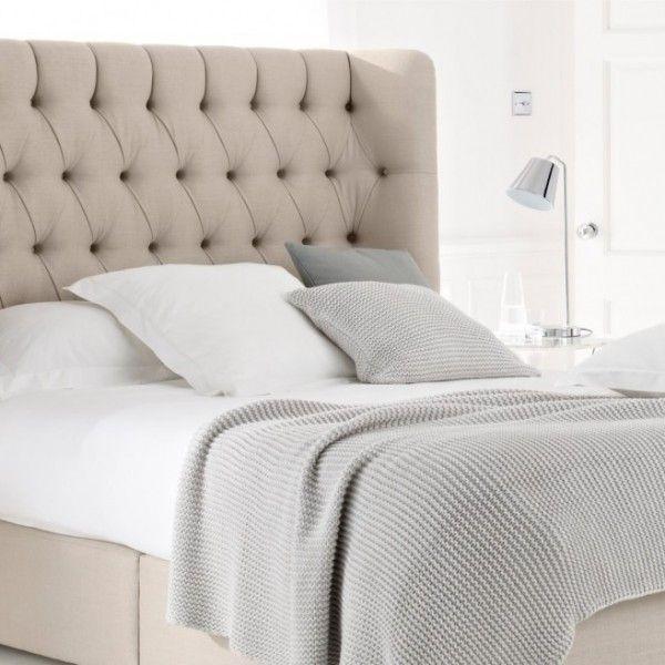 Kopfteil Bett Leuchte Kissen