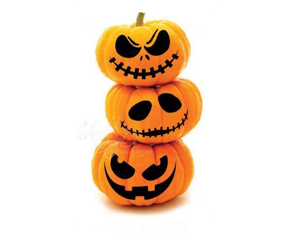 pumpkin template pdf  Printable Halloween Pumpkin Carving Pattern Stencil PDF ...