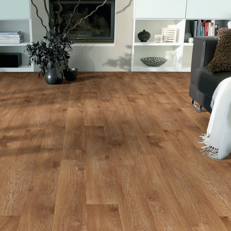Rhino Style Kent Moyen Wood Effect Vinyl Flooring Walnut