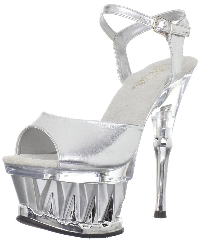 Pleaser Women's Spiky-609 Platform Sandal >>> You can get additional  details at