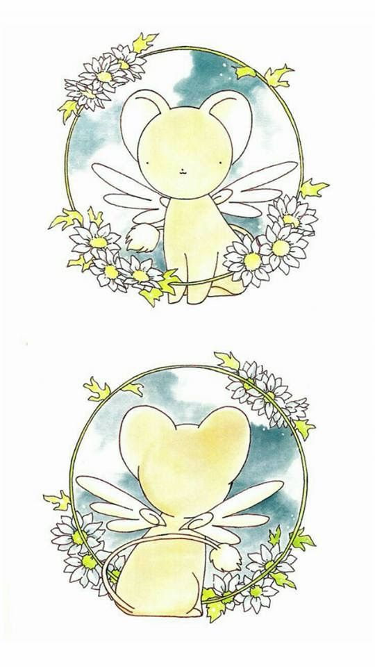 Fondos para celular Wallpaper Clamp Sakura card captors anime Kero ...