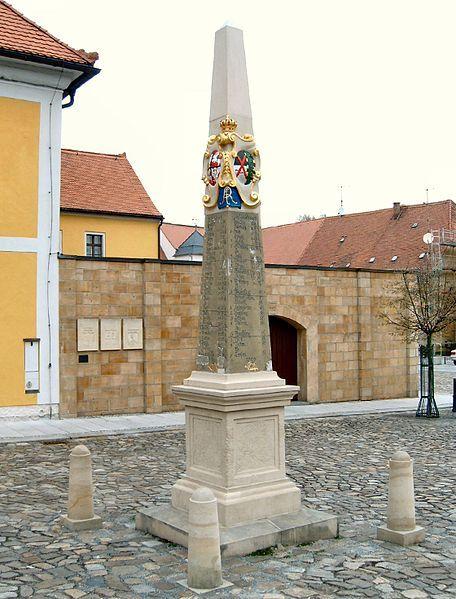 Neustadt Sachsen Postmeilensäule