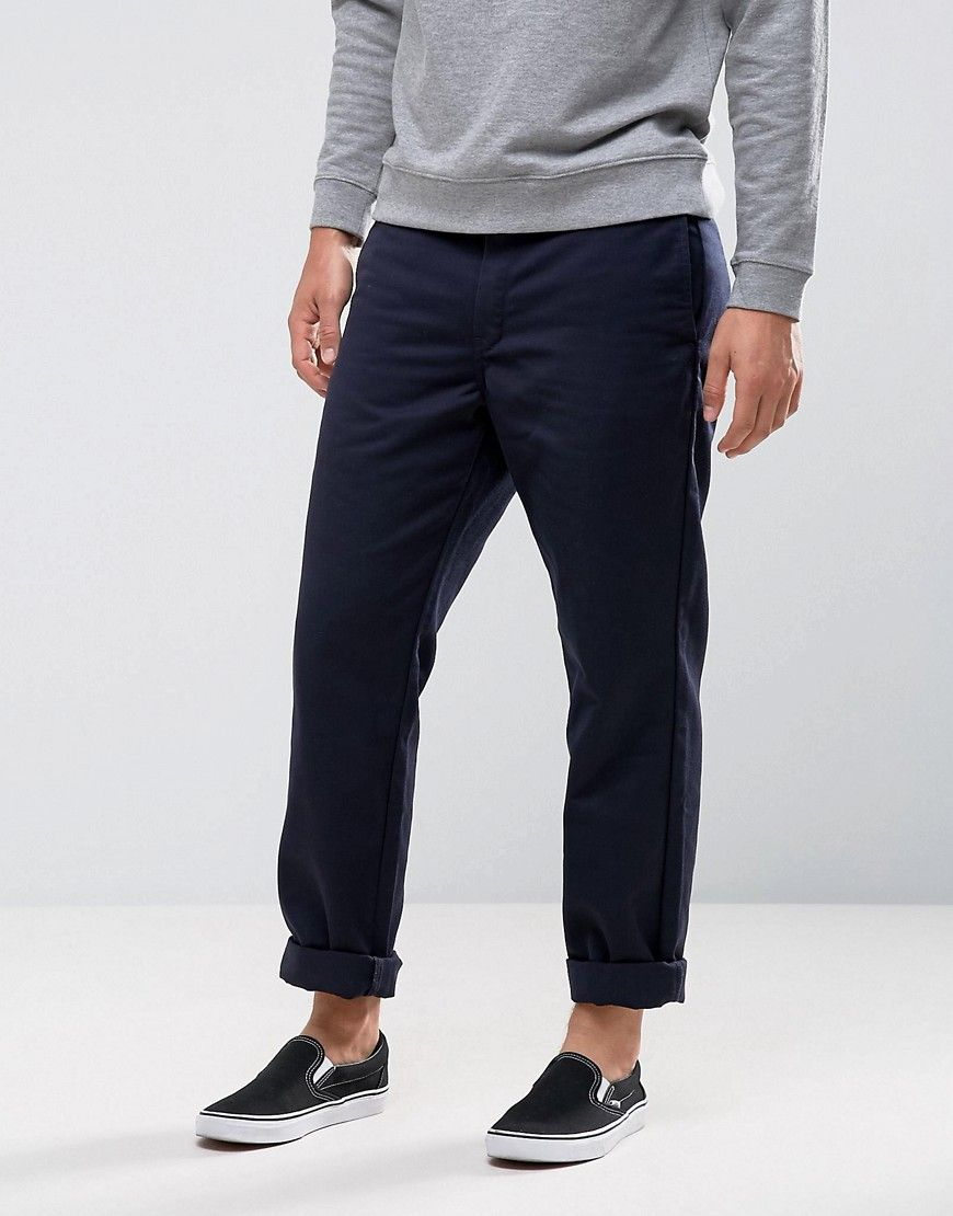 Master Relaxed Tapered Chino - Navy Carhartt Work in Progress iJ32qBH