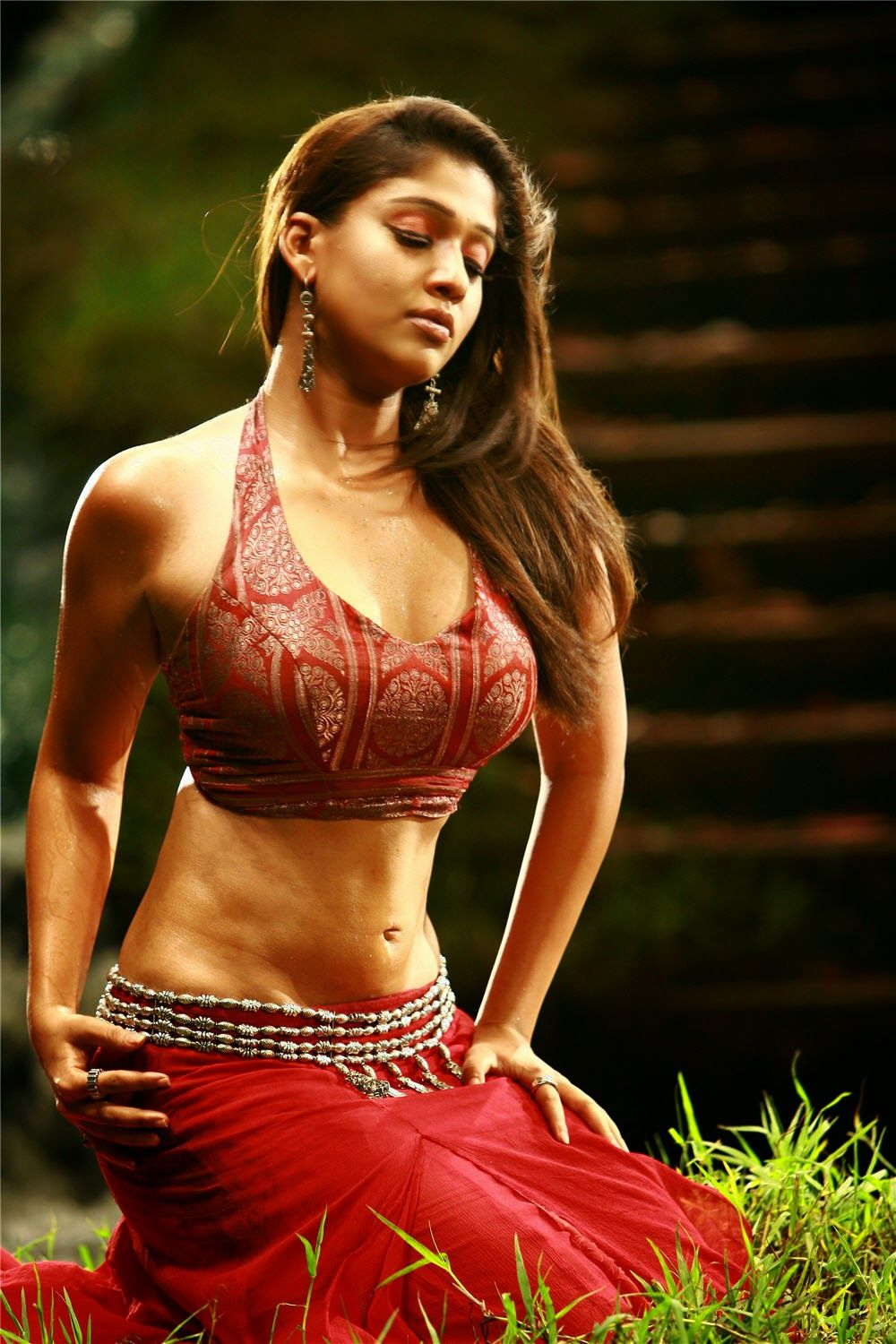Tamil Actress Nayanthara Hot Navel Show Hd Photo Gallery 1  Hot South Indian Actress Images-9447