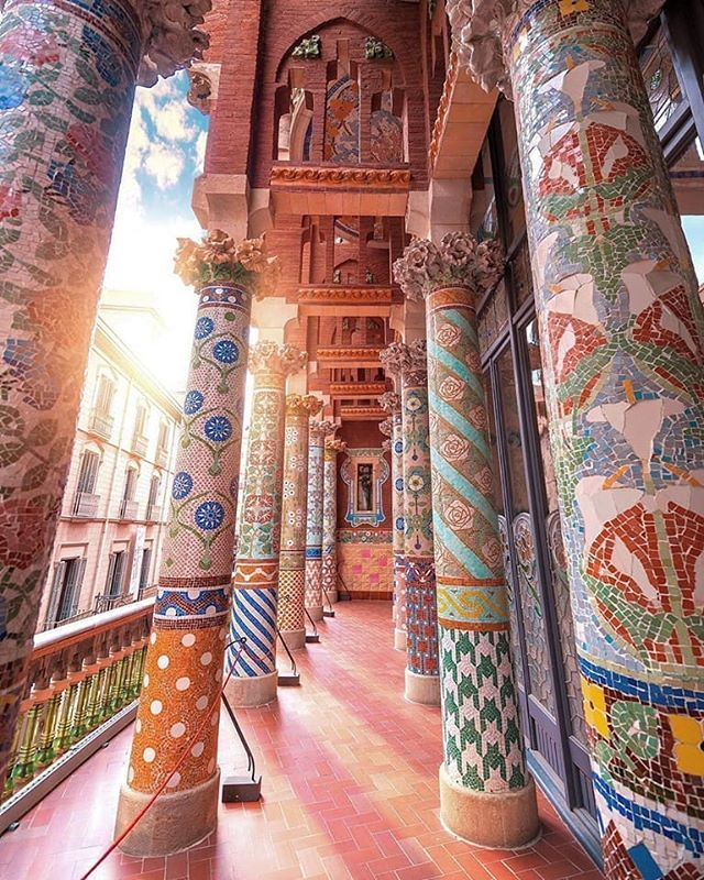   For my part I travel not to go anywhere but to go. I travel for travels sake. The great affair is to move.  Robert Louis Stevenson    @Dorpell      Palau de la Música #Catalana #spain........................................................................................ ............. #vacations #wanderlust #instatravel #travelgram #tourism #passportready #liveauthentic #exklusive_shot #modernoutdoorsman #getoutstayout #neverstopexploring #ourcamplife #stayandwander #theworldshotz