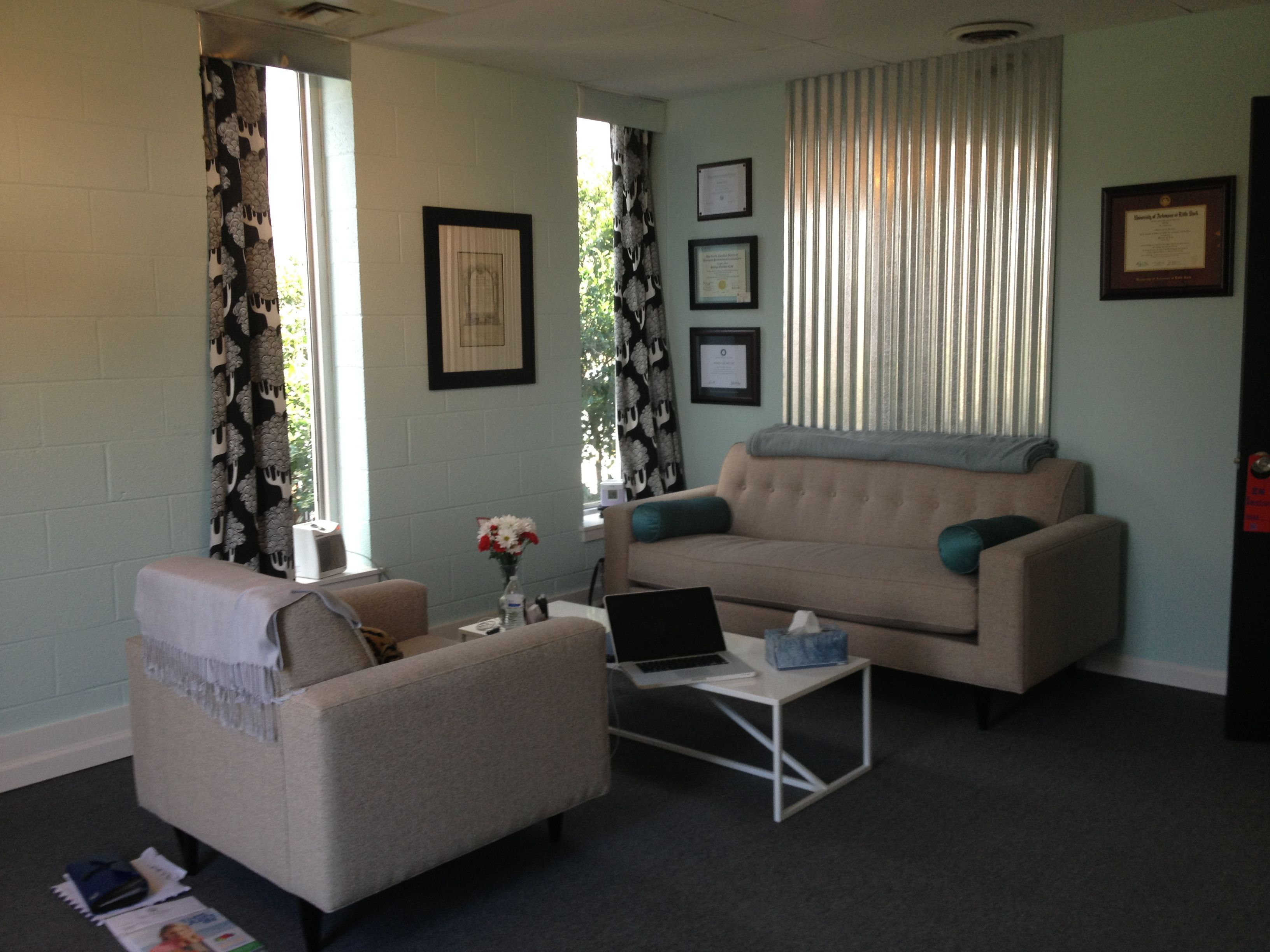 Therapy office at Tree of Life Counseling in Greensboro