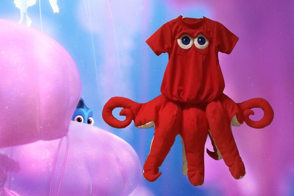 Hank The Septapus Costume Toddler Octopus Finding Dory Halloween Fancy Dress