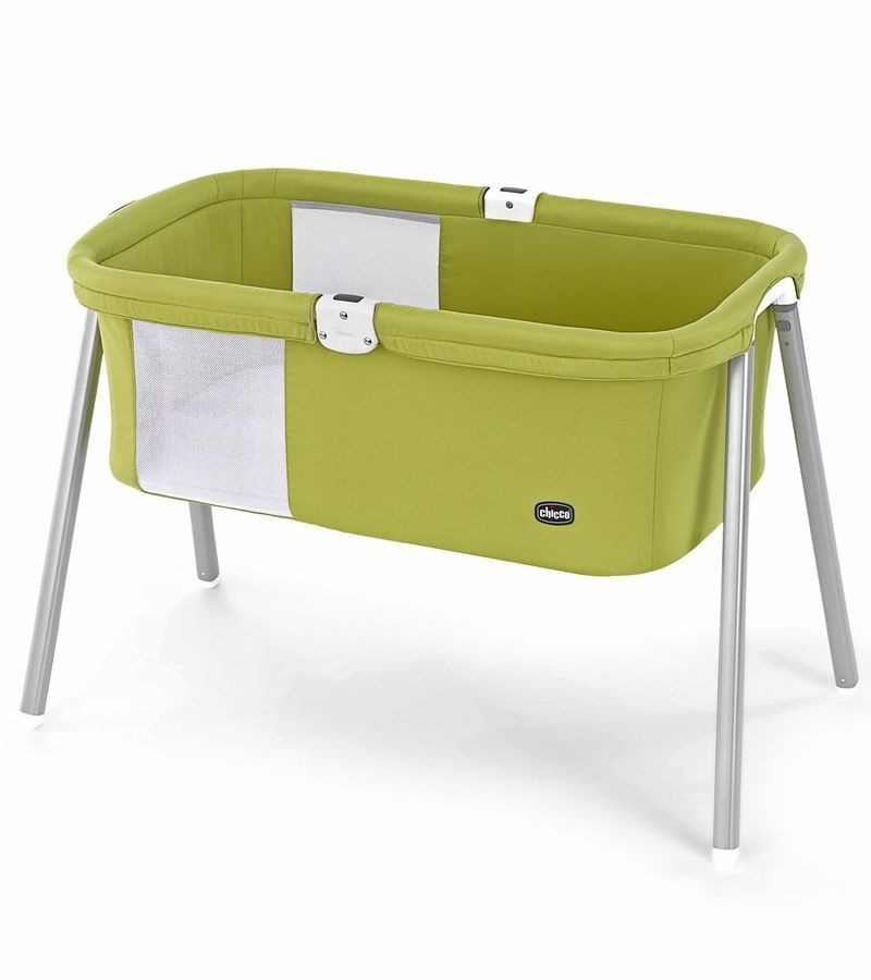 Amazing Chicco Lullago Travel Crib Compact Portable Cradle Folding Bassinet Playpen