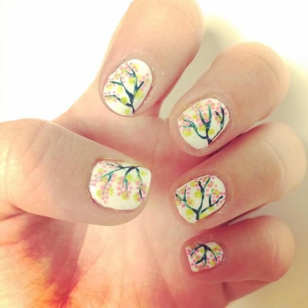 Latest Cherry Blossom Nail Art Designs Ideas 2017 One of the best ...