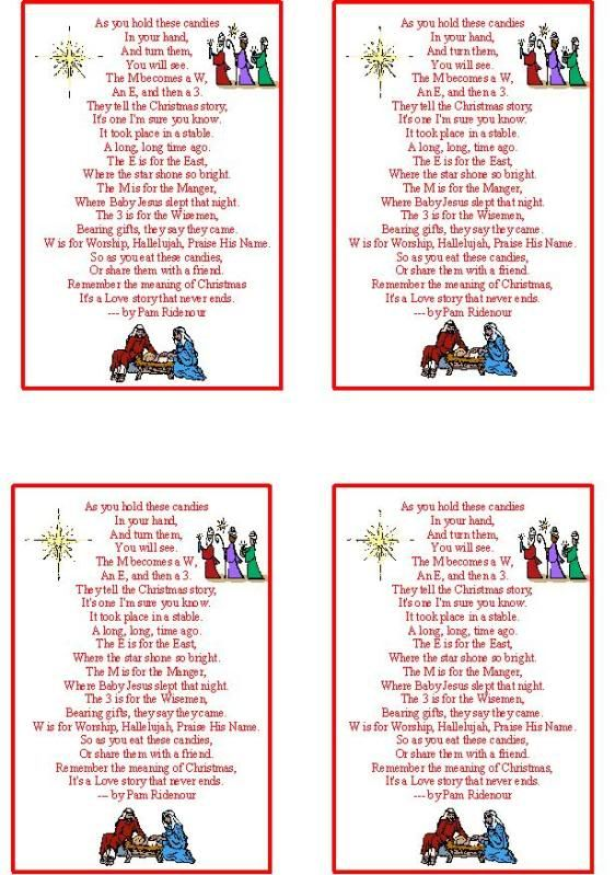 m m candy christmas poem craftsayingscom view topic linkmm christmas story tag