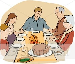 41+ Thanksgiving dinner table clipart ideas in 2021