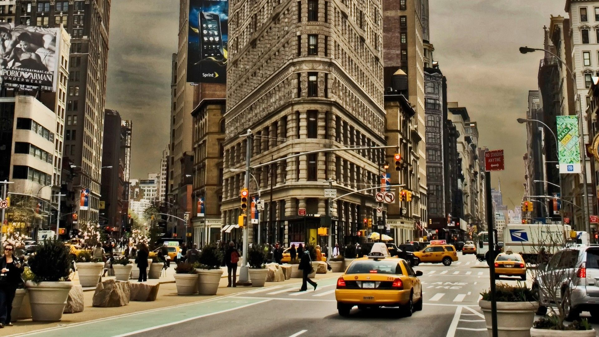 Flatiron New York Wallpaper New York City Photos New York City Buildings