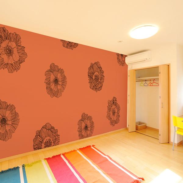 Kn 0099 花 リフォーム 壁紙 植物の壁紙 壁紙