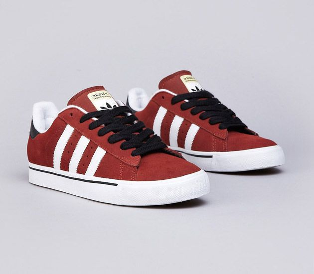 adidas originals campus vulc red