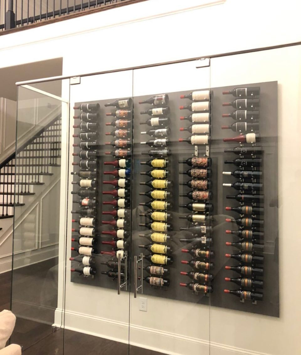 Building a wine cellar is a journey wine cellar wall