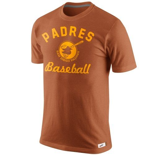 8e01b5842c4fa Nike San Diego Padres Vintage Logo Cooperstown Collection Tri-Blend ...
