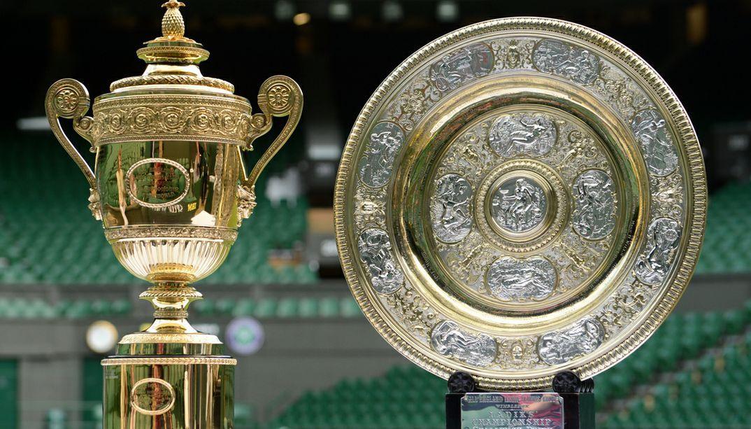 Prestige Wimbledon Tennis World Tennis Trophy