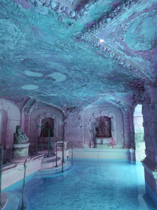Indoor Outdoor Bath House Pool Places Amp Scenery In 2019