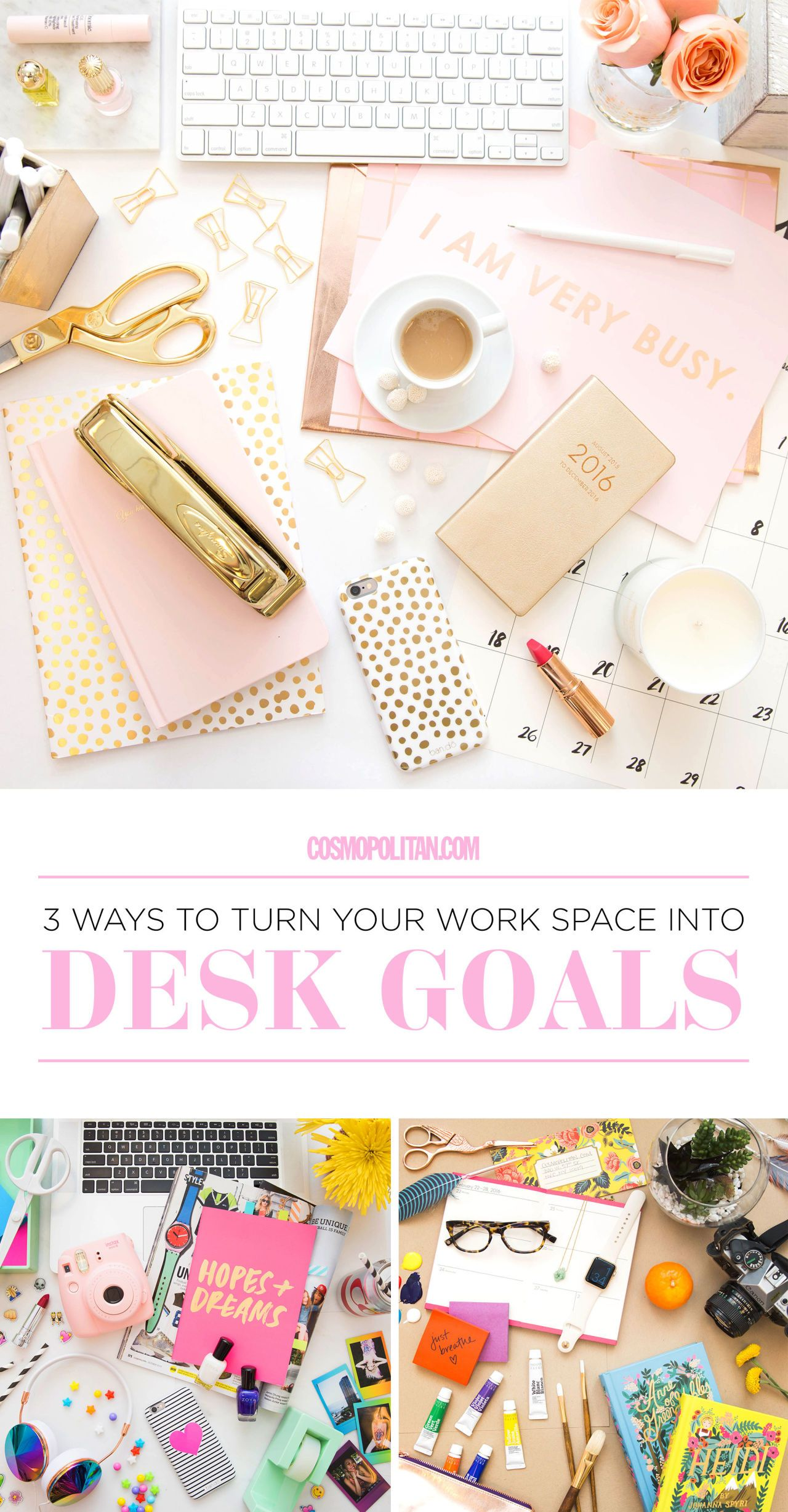 Preppy Desk Accessories