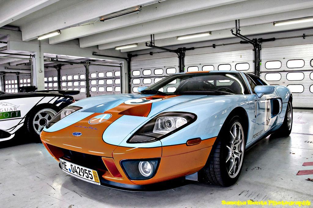 Ford Gt Gulf Colors Von Sascha Bentz