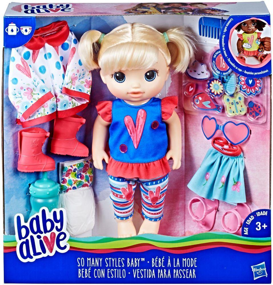 Best Buy Baby Alive So Many Styles Doll E2101 Baby Alive Doll Clothes Baby Dolls For Kids Baby Alive Dolls