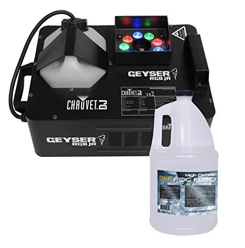 CHAUVET GEYSER RGB JR Fog Machine & LED DJ Effect Light w/ Remote + HDF Fluid Chauvet http://www.amazon.com/dp/B00N45MOBG/ref=cm_sw_r_pi_dp_wY7Yub0ZTM4WA
