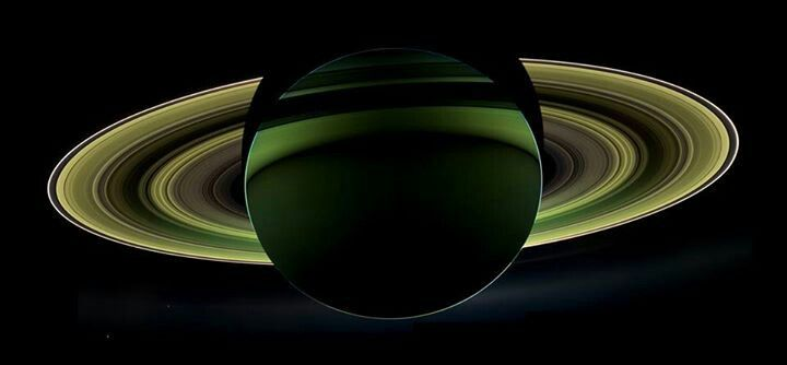 Saturn from the Cassini space craft