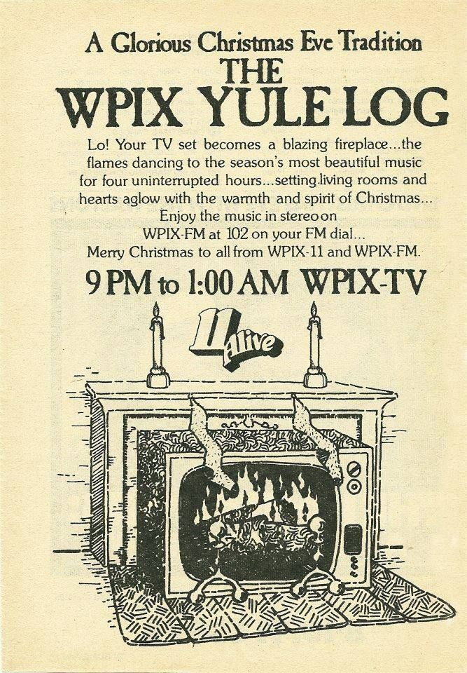 WPIX Yule Log is still on TV!---Channel 11 every Christmas Morning ...