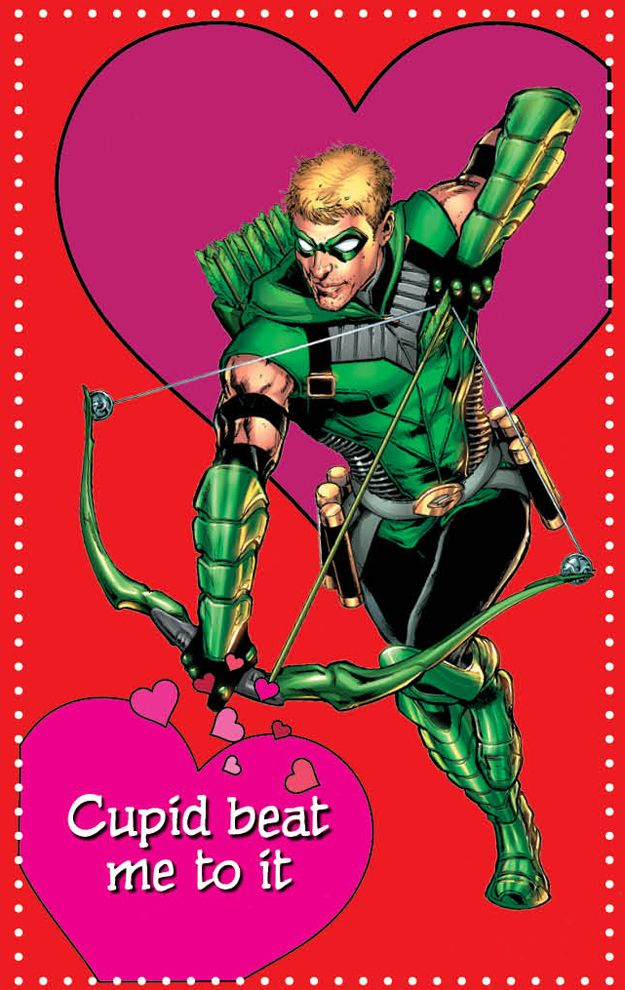 17 dc new 52 superhero valentines day cards to groan at