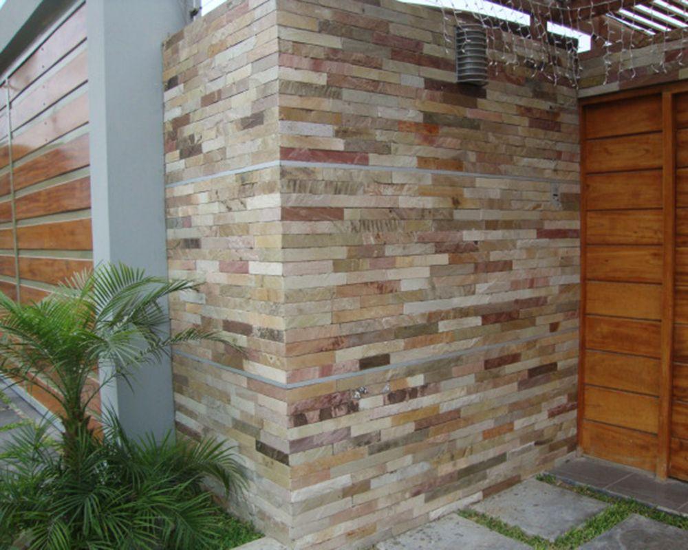 Revestimiento de piedra laja buscar con google decoracion pinterest revestimiento de - Piedra para exterior ...