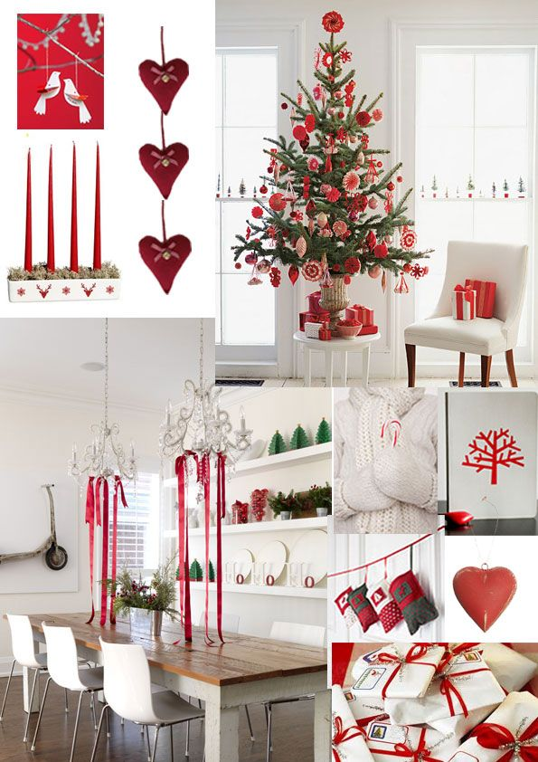 Obsessed With Red Gray And White This Season Nordic Christmas Decorations Nordic Christmas Scandi Christmas