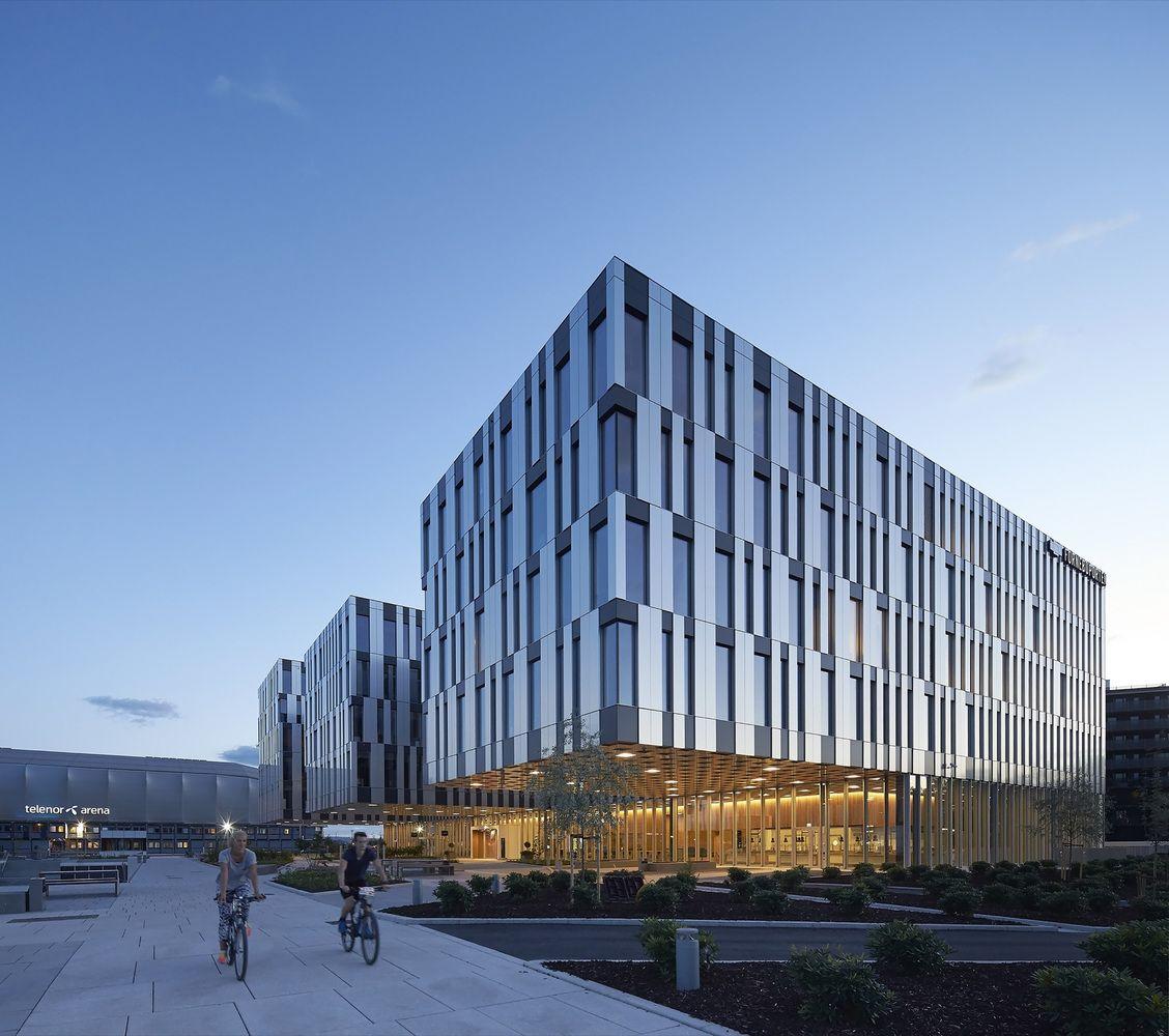 Hotel Exterior Design Architecture Affordable Ideas Modern: Gallery Of Fornebuporten / Dark Arkitekter + Zinc Interior