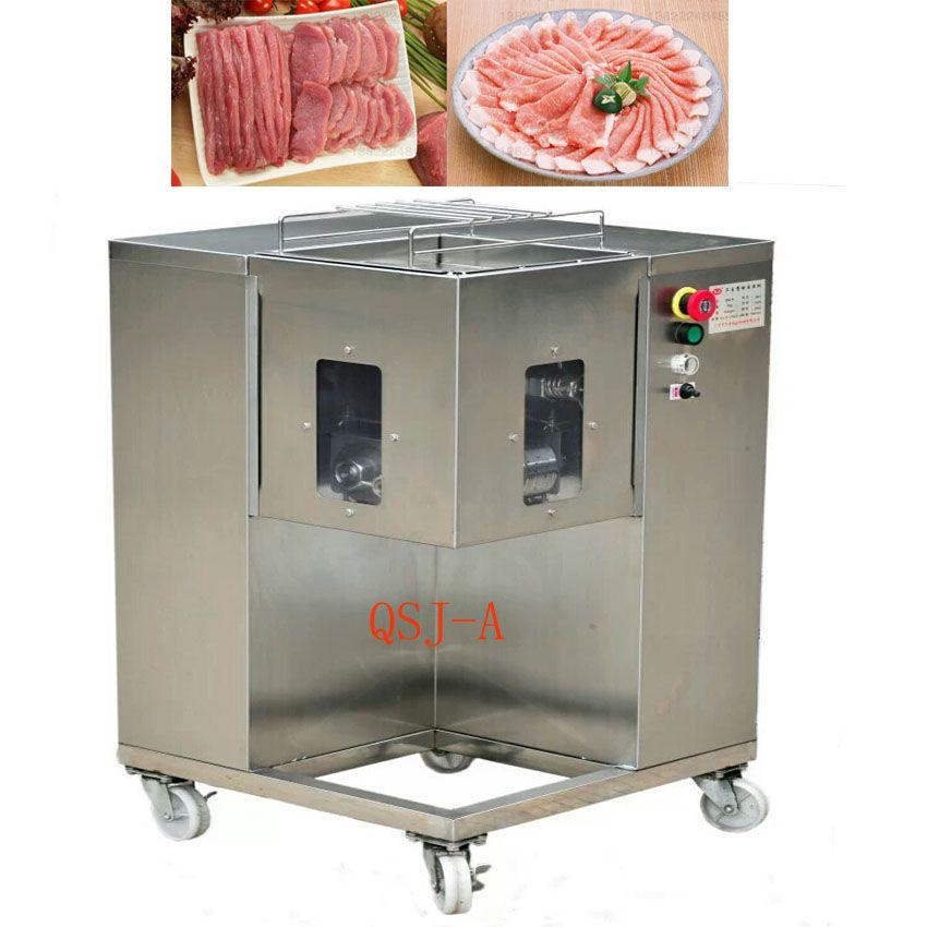 QSJ-A hot selling Multifunction meat cutter machine, 500KG /HR, meat ...