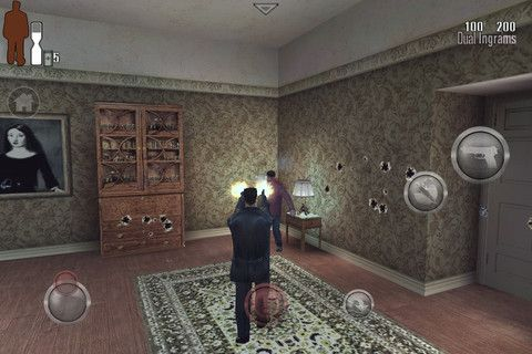 Max Payne, the super popular third-person shooter has just now just released for iOS in Max Payne Mobile.