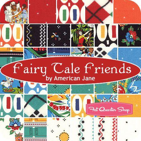 Moda Fabric Fairy Tale Friends