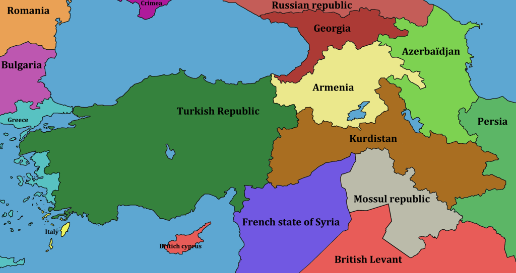 in october 1918,the Ottoman empire led by Mehmed V is