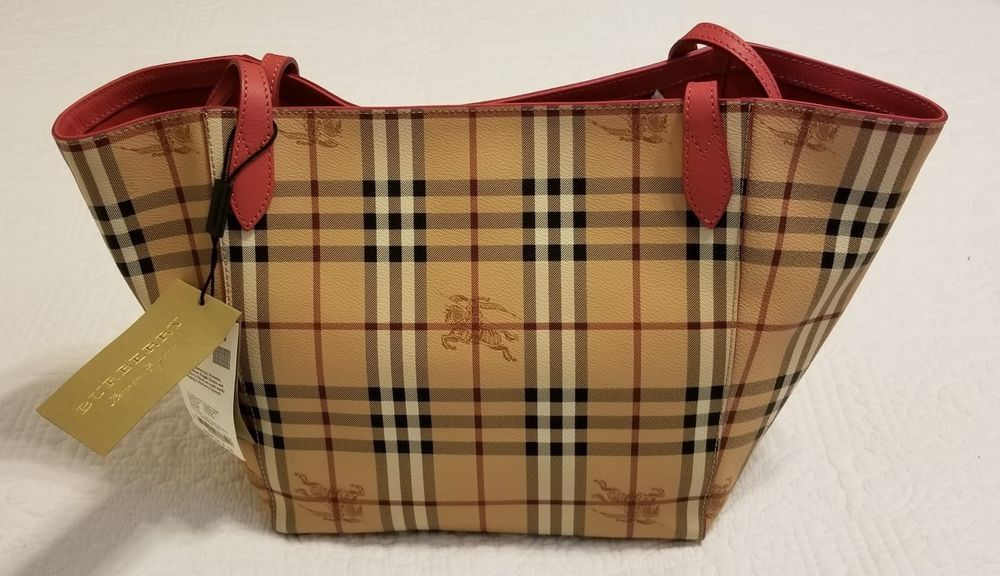 8cbf53dc1193 NWT Burberry Sm Canter Tote Bag  purses  fashion