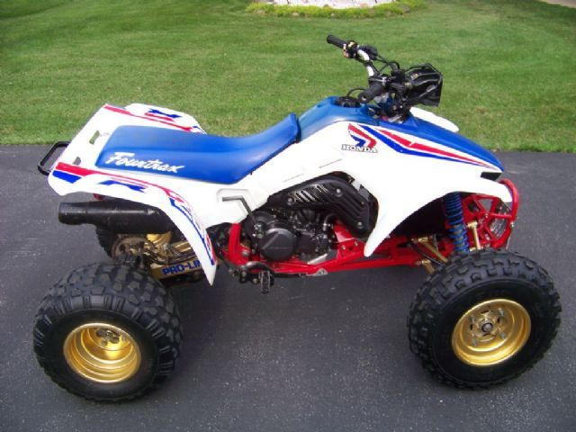 1987 Honda Trx250r 4 Wheeler White Blue For Sale In Belvidere Il Atv Motocross Atv Quads Honda