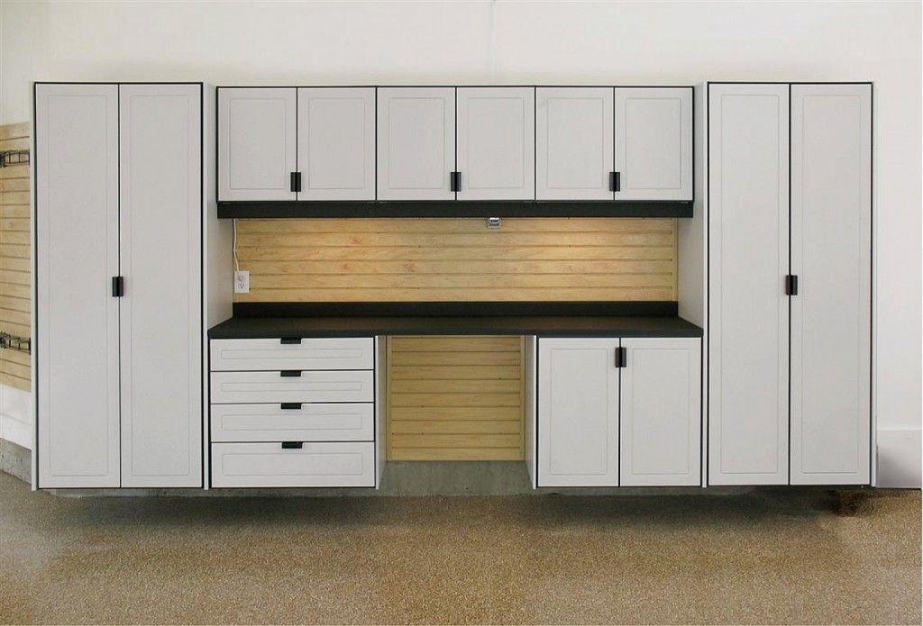 Unfinished Garage Cabinets