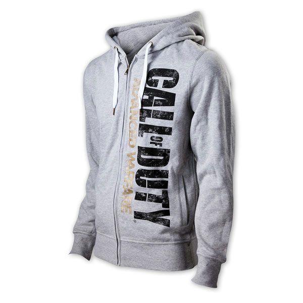 Sudadera con capucha Call of Duty Advanced Warfare Estupenda sudadera en color gris perteneciente al popular videojuego Call of Duty.